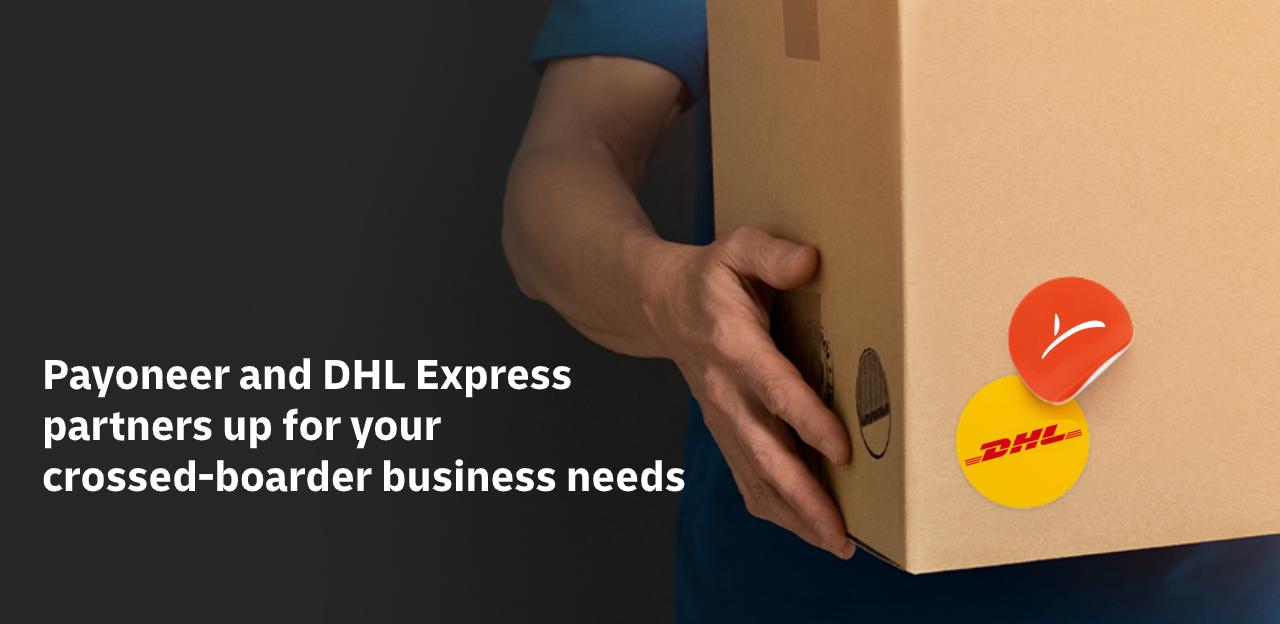 DHL Express x Payoneer