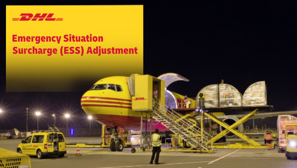 Emergency Situation Surcharge (ESS) Adjustment – Effective 24 May 2020